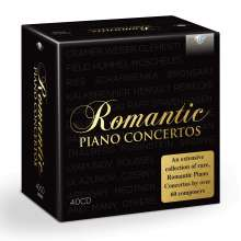 Romantic Piano Concertos, 40 CDs