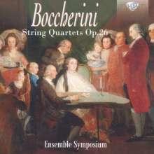 Luigi Boccherini (1743-1805): Streichquartette op.26 (G.195-200), CD