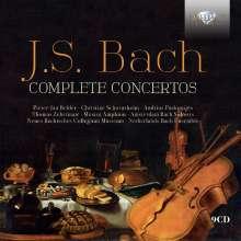 Johann Sebastian Bach (1685-1750): Sämtliche Konzerte, 9 CDs