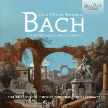 Carl Philipp Emanuel Bach (1714-1788): Kammermusik mit Klarinette, CD