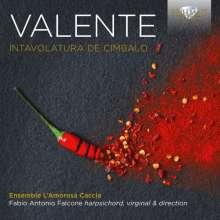 Antonio Valente (1520-1580): Intavolatura di Cimbalo, CD