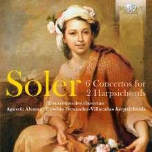 Antonio Soler (1729-1783): Konzerte für 2 Cembali Nr.1-6, CD