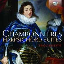 Jacques Chambonnieres (1601-1672): Cembalosuiten C-Dur, D-Dur, d-moll, F-Dur, G-Dur, g-moll, B-Dur, a-moll, 2 CDs