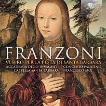 Amante Franzoni (Fl. 1605-1630): Vespro per la Festa di Santa Barbara, CD