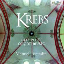Johann Ludwig Krebs (1713-1780): Sämtliche Orgelwerke, 7 CDs