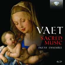 Jacobus Vaet (1529-1567): Geistliche Werke, 4 CDs
