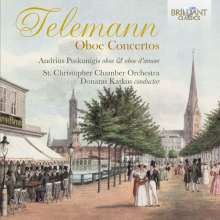 Georg Philipp Telemann (1681-1767): Oboenkonzerte, CD