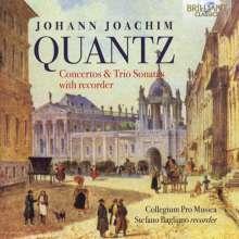 Johann Joachim Quantz (1697-1773): Blockflötenkonzert F-Dur QV5:139, CD
