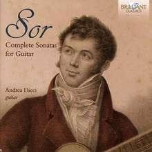 Fernando Sor (1778-1839): Sämtliche Sonaten für Gitarre, CD