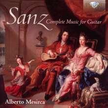 Gaspar Sanz (1640-1710): Sämtliche Gitarrenwerke, 2 CDs