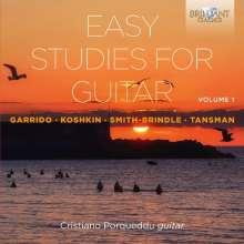 Cristiano Porqueddu - Easy Studies for Guitar Vol.1, 2 CDs