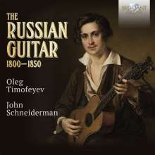 Oleg Timofeyev - The Russian Guitar, 7 CDs