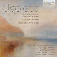 Paolo Ugoletti (geb. 1956): Konzert für Saxophon, Klavier & Streichorchester, CD