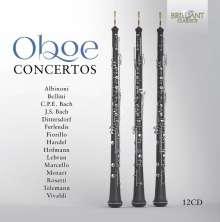 Oboe Concertos, 12 CDs