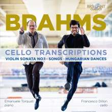 Francesco Dillon & Emanuele Torquati - Brahms: Cello Transcriptions, CD