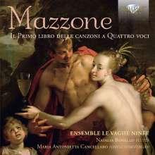 Marc' Antonio Mazzone (1540-1600): Canzoni a Quattro Voci Libro I, CD