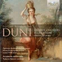 Egidio Romualdo Duni (1709-1775): Le deux Chasseurs et la Laitiere, CD