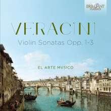 Antonio Veracini (1669-1733): Violinsonaten, CD
