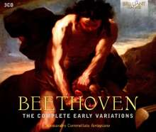 "Ludwig van Beethoven (1770-1827): Variationen für Klavier ""The Complete Early Variations"", 3 CDs"