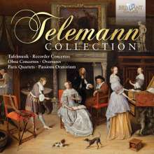 Georg Philipp Telemann (1681-1767): Telemann Collection, 10 CDs