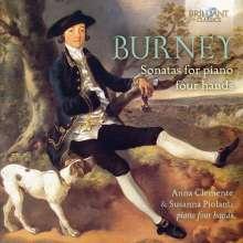 Charles Burney (1726-1814): Sonaten für Klavier 4-händig, 2 CDs