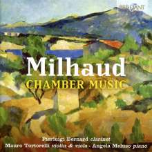 Darius Milhaud (1892-1974): Kammermusik, CD