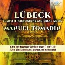 Vincent Lübeck (1654-1740): Sämtliche Werke für Orgel & Cembalo, 2 CDs