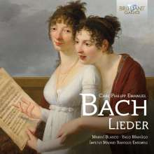 Carl Philipp Emanuel Bach (1714-1788): Lieder, CD