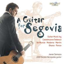 Javier Somoza - A Guitar for Segovia, CD
