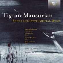 Tigran Mansurian (geb. 1939): Lieder & Instrumentalstücke, CD