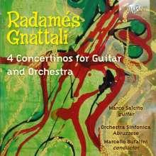 Radames Gnattali (1906-1988): Concertinos für Gitarre & Orchester, CD