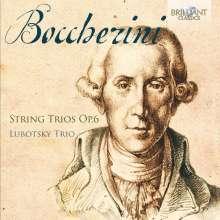 Luigi Boccherini (1743-1805): Streichtrios op.6 Nr.2,4,5,6, CD