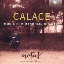 Raffaele Calace (1863-1934): Werke für Mandolinenquartett, CD
