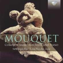 Jules Mouquet (1867-1946): Sämtliche Werke für Flöte & Klavier, CD