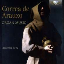 Francisco Correa de Arauxo (1584-1654): Tientos für Orgel, 2 CDs