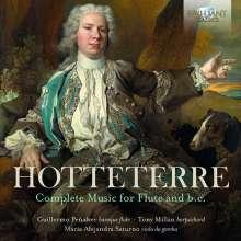 Jacques-Martin Hotteterre (1674-1763): Sämtliche Werke für Flöte & Bc, 2 CDs
