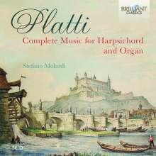 Giovanni Benedetto Platti (1697-1763): Sämtliche Werke für Cembalo & Orgel, 3 CDs