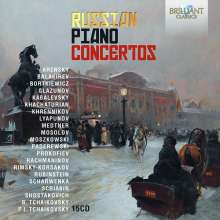 Russian Piano Concertos, 15 CDs