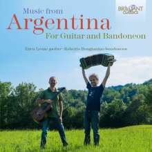 Enea Leone & Roberto Bongianino - Music from Argentina for Guitar and Bandoneon, 2 CDs