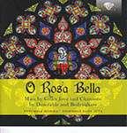 """Gilles Joye (ca.1420 - ca.1483): Missa Super """"O Rosa bella"""", CD"""