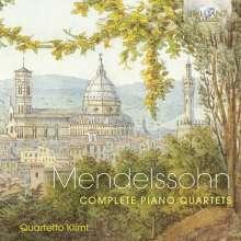 Felix Mendelssohn Bartholdy (1809-1847): Klavierquartette Nr.1 & 2, 3 CDs