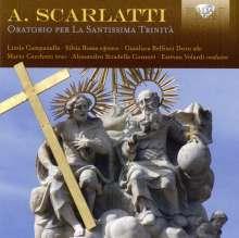 Alessandro Scarlatti (1660-1725): Oratorio Per La Santissima Trinita, 2 CDs