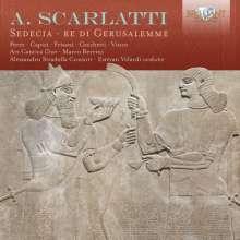 Alessandro Scarlatti (1660-1725): Sedecia,Re di Gerusalemme, 2 CDs