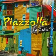 """Astor Piazzolla (1921-1992): Kammermusik """"La Calle 92"""", CD"""