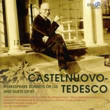 Mario Castelnuovo-Tedesco (1895-1968): Shakespeare-Sonette op.125, 2 CDs