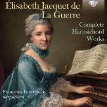 Elisabeth-Claude Jacquet de la Guerre (1665-1729): Cembalowerke, 2 CDs