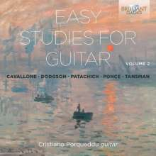 Cristiano Porqueddu - Easy Studies for Guitar Vol.2, CD