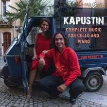 Nikolai Kapustin (geb. 1937): Werke für Cello & Klavier, CD