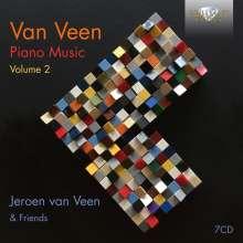 Jeroen van Veen (geb. 1969): Piano Music Vol.2, 7 CDs