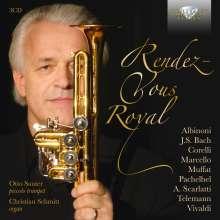 """Musik für Trompete & Orgel """"Rendez-Vous Royal"""", 3 CDs"""